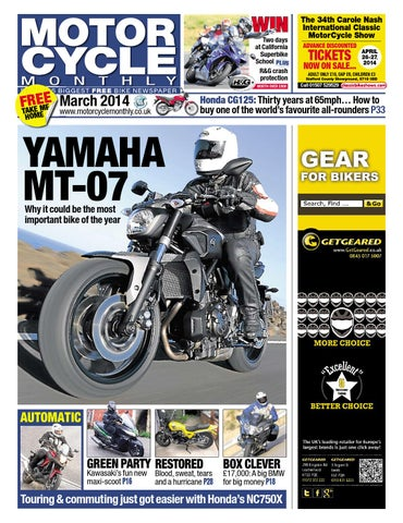 Motor Cycle Monthly - March 2014 - Full Edition by Mortons Media