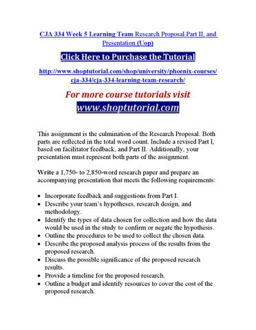 research proposal part 1 cja 334
