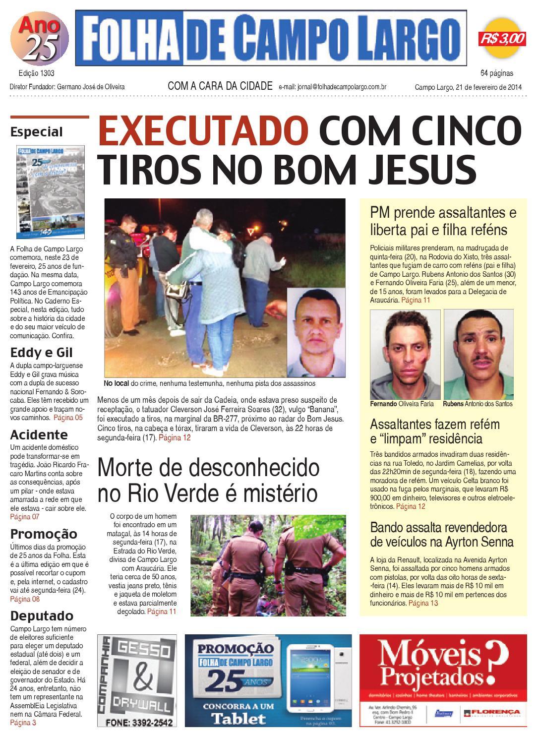 ade554bb57e Folha de Campo Largo by Folha de Campo Largo - issuu
