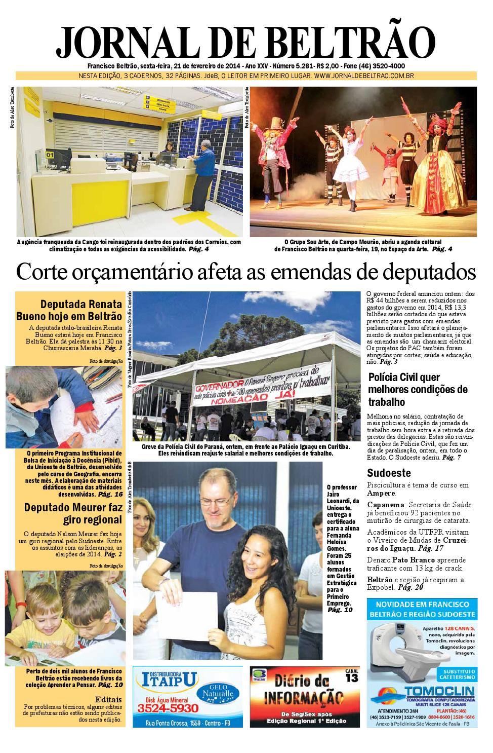jornaldebeltrão 5281 2014-02-21.pdf by Orangotoe - issuu 66cb1ae7735aa