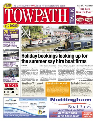 Towpath Talk - March 2014 - FULL ISSUE by Mortons Media Group Ltd ... 9e80878a8