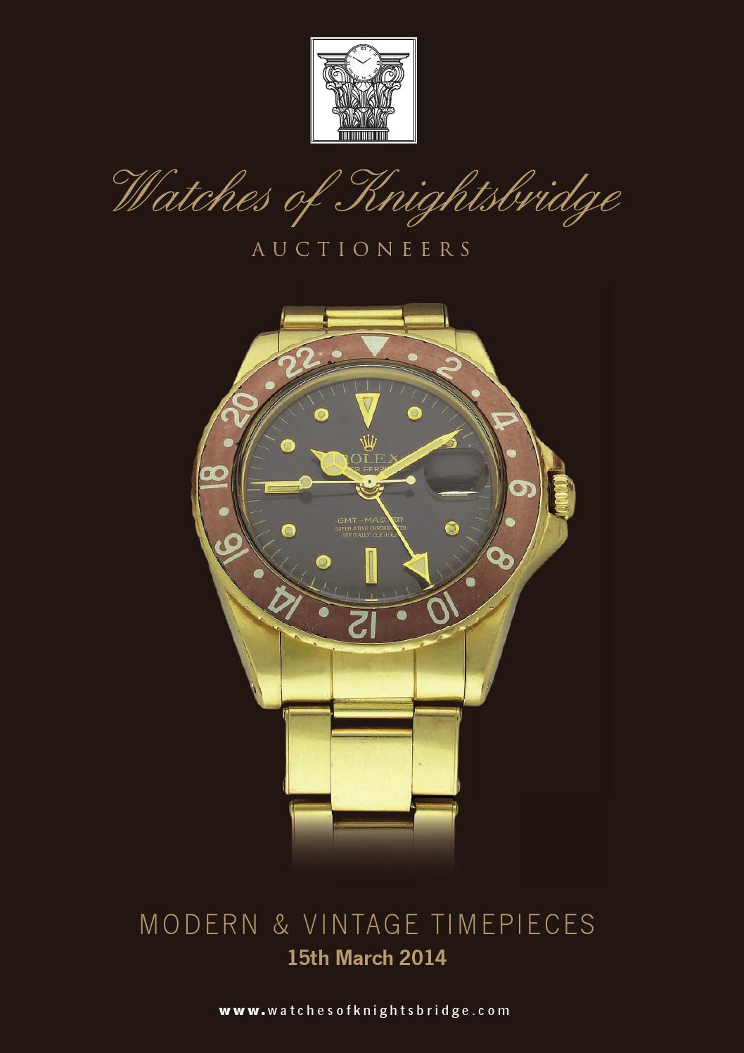 Watches Of Knightsbridge Modern Vintage Timepieces 15th March Rolex Parts Diagram For Cal 3035 1 Gent39s Datejust As It 2014 By Atgmedia Issuu