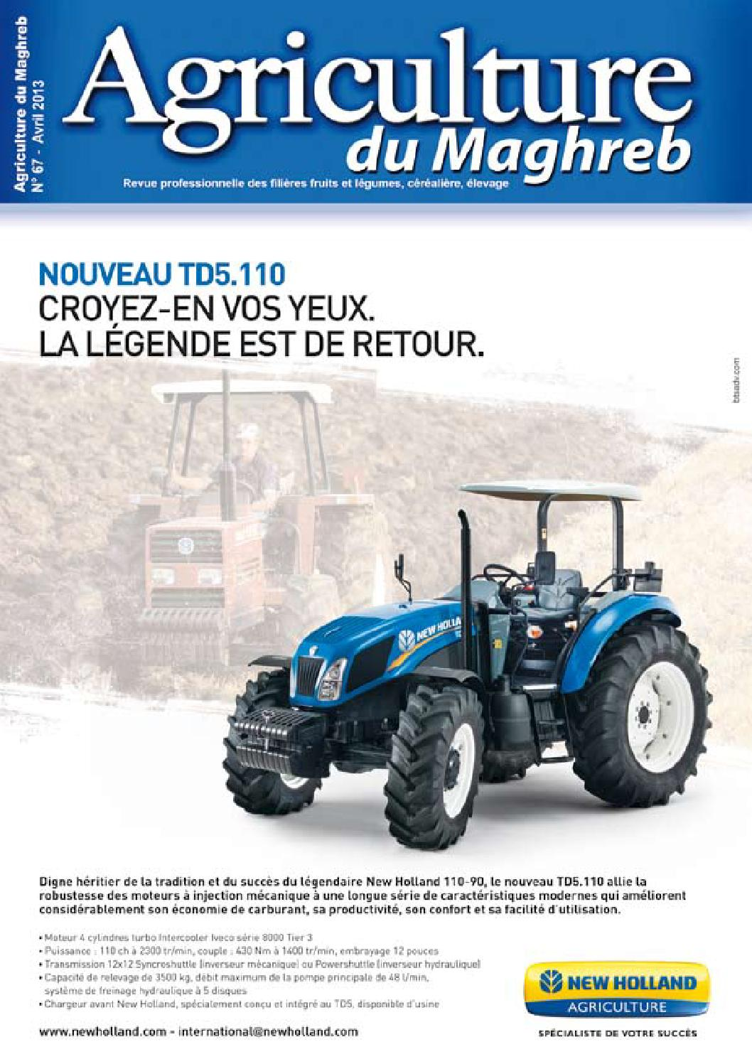 Agriculture du maghreb n°67 by AGRICULTURE MAGHREB - issuu