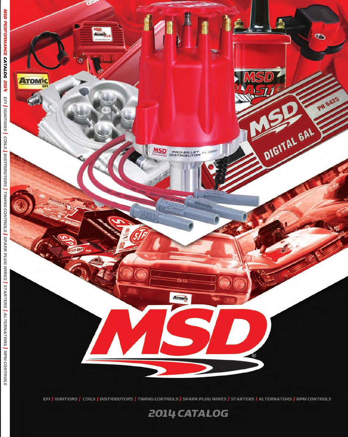 2014 Msd Catalog By Tmeyer Inc Issuu Distributor 8360 Wiring Diagram
