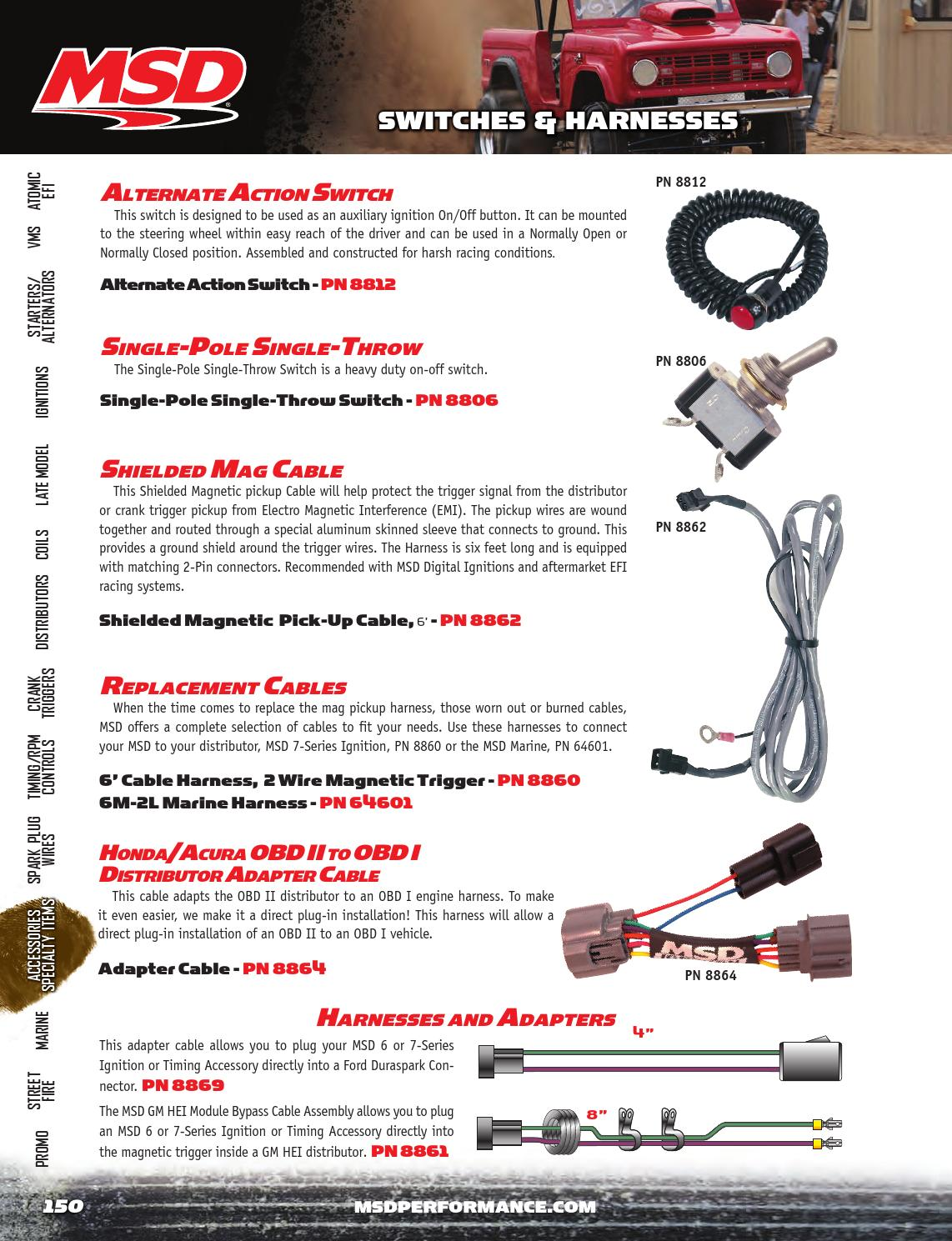 2014 Msd Catalog By Tmeyer Inc Issuu 5 3l Wiring Harness