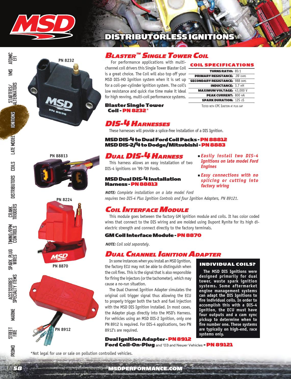 2014 Msd Catalog By Tmeyer Inc Issuu Engine Wiring Harness