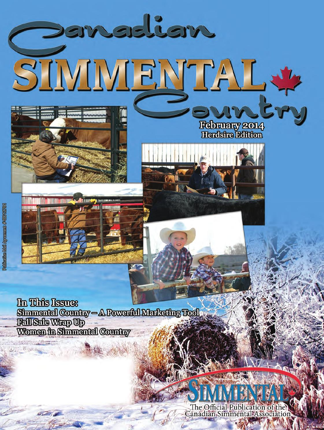 Simmental Country February 2014 by Today's Publishing Inc  - issuu
