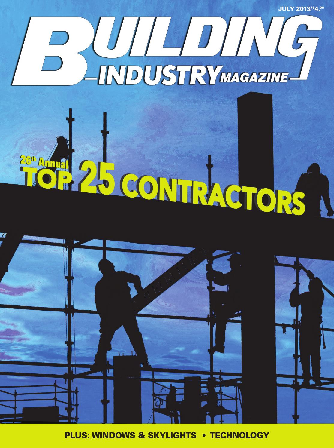 Building industry july 2013 top 25 contractors by ursula for Skylights of hawaii llc