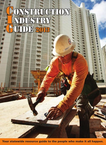 1d8c8eb2ac2 Construction Industry Guide 2013 by Ursula Silva - issuu