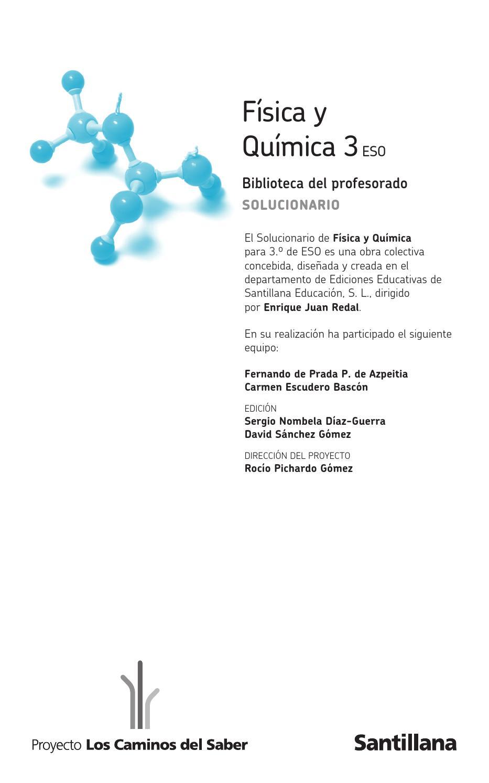 177967493 solucionario 3 eso los caminos del saber pdf by for Libro la quimica y la cocina pdf