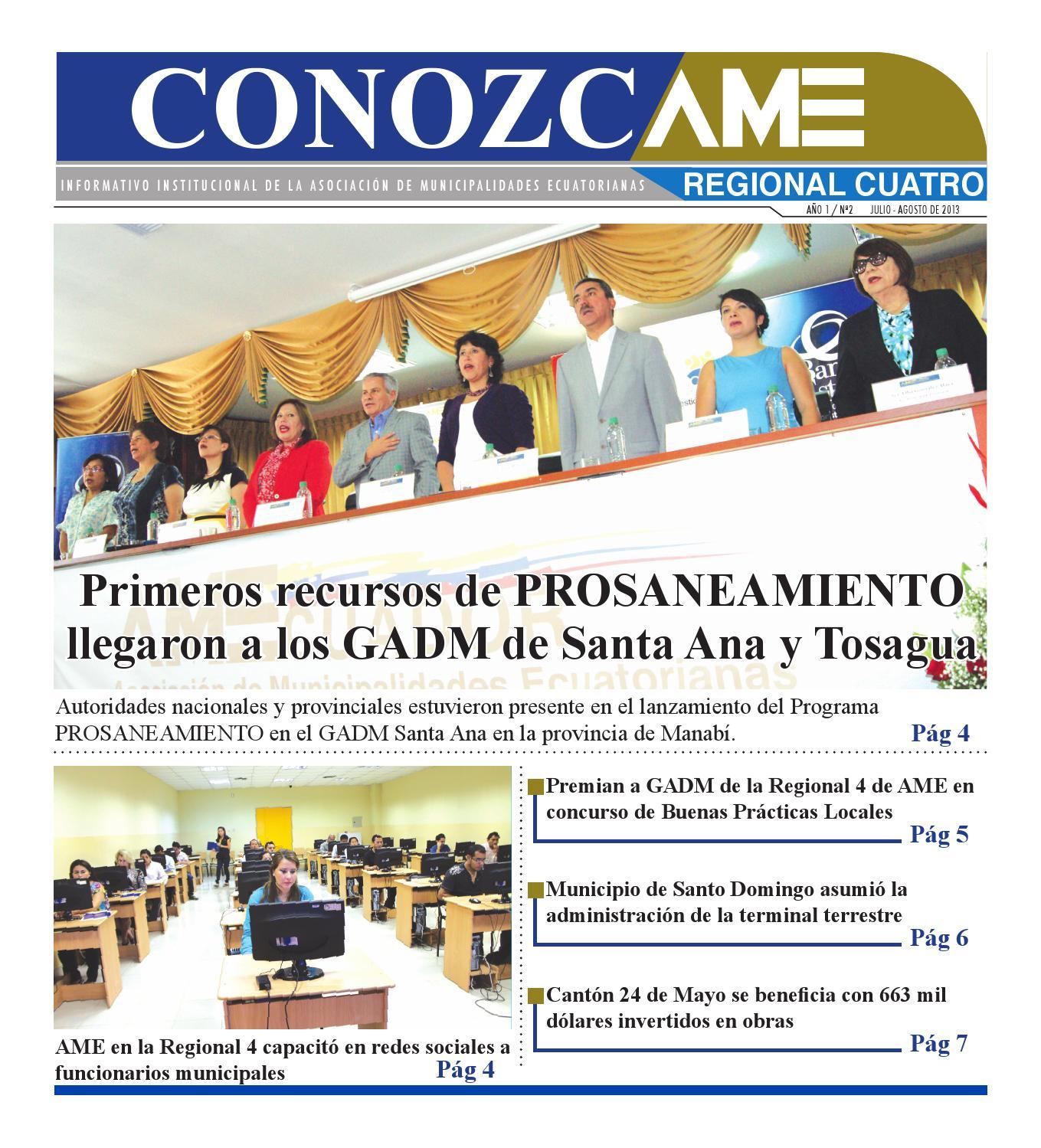 Conozcame regional 4 junio 2013 by AMEcuador - issuu 0184ca47182
