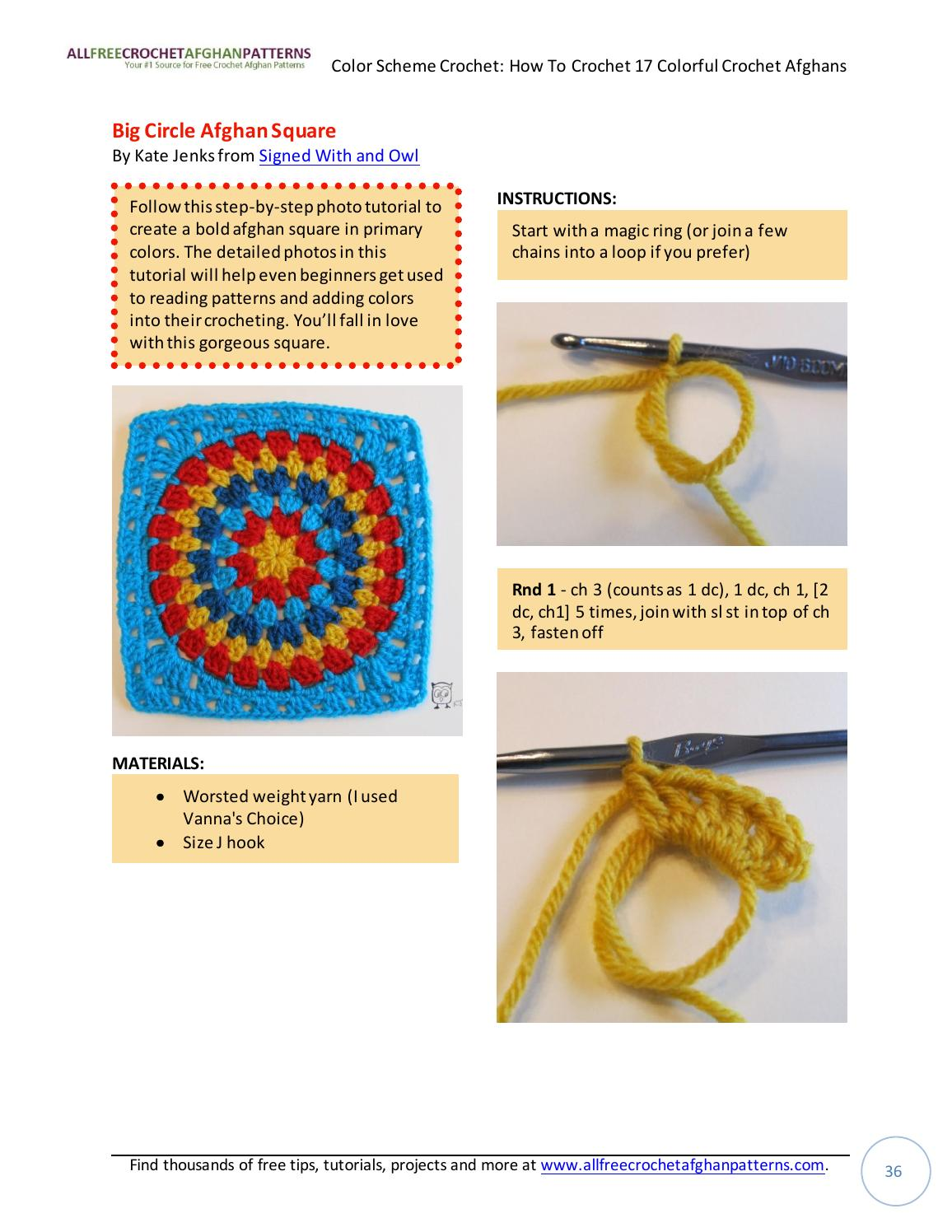 Color scheme crochet how to crochet 17 colorful crochet afghans by color scheme crochet how to crochet 17 colorful crochet afghans by jasmina sizz issuu baditri Images