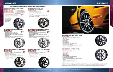 FORD PERFORMANCE 2005-2014 MUSTANG WHEEL CENTER CAP M-1096-FR1