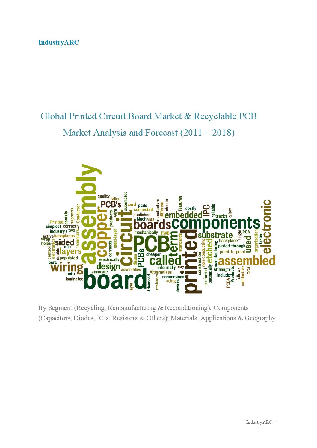 Global Printed Circuit Board Market Recyclable Pcb Analysis High Quality Computer Hdi Made In China For Sale And Forecast 2011 2018 By Sanjay Matthews Issuu
