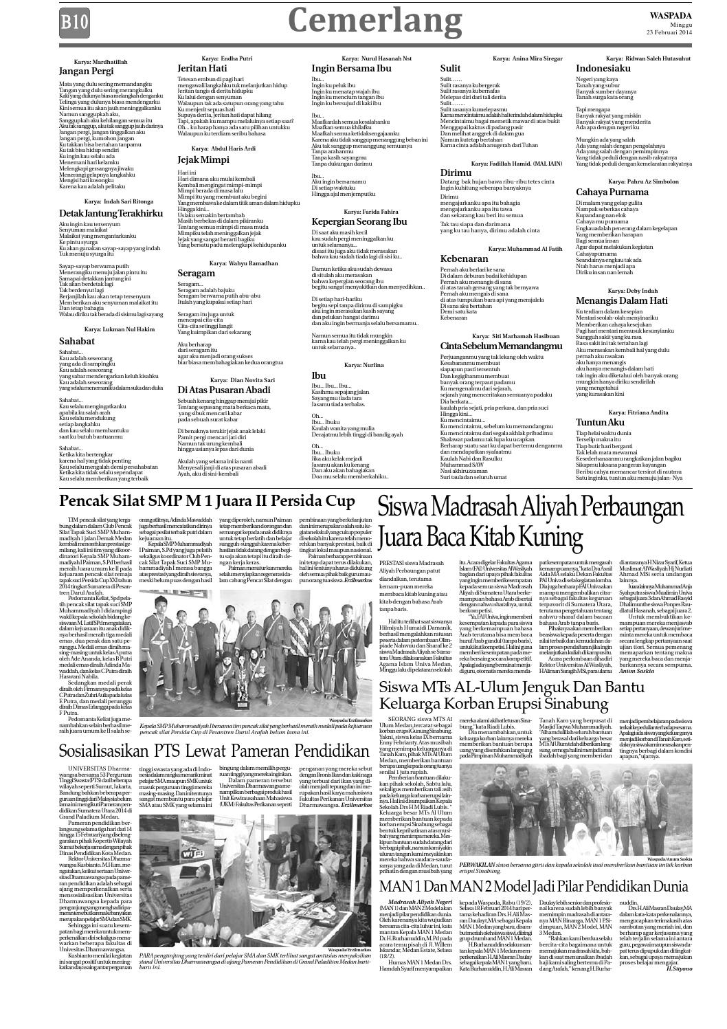 Waspada Minggu 23 Februari 2014 By Harian Waspada Issuu