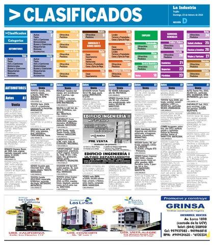 f49a07fe3017e La Industria Trujillo Clasificados 23feb2014 by Alejandro Obregon ...