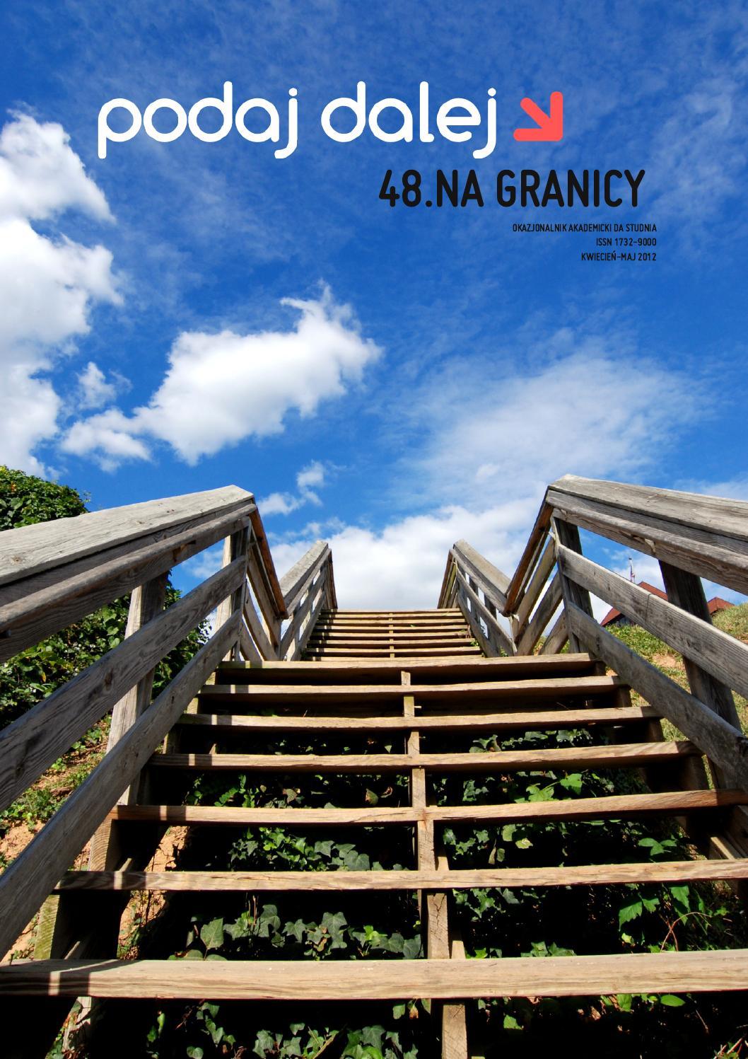 Na Granicy Podaj Dalej Nr 48 By Podaj Dalej Issuu