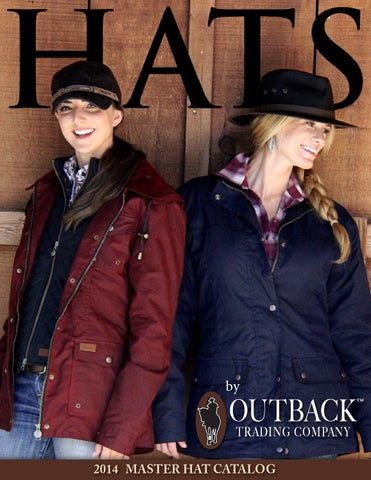 24e7c17097fc3 Outback trading hats 2014 catalog by HRCS - issuu