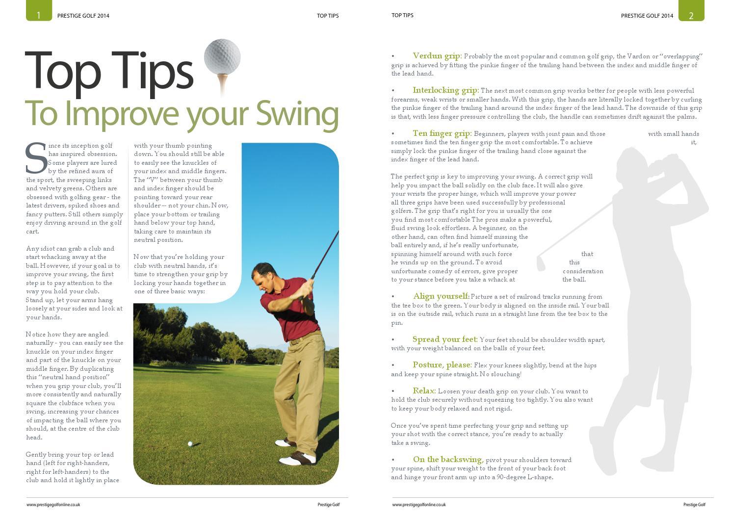 Ad_ by Prestige Golf Online - issuu