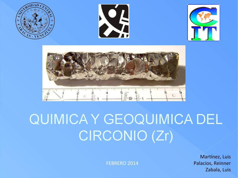 Qumica y geoqumica del circonio by luis zabala issuu urtaz Choice Image