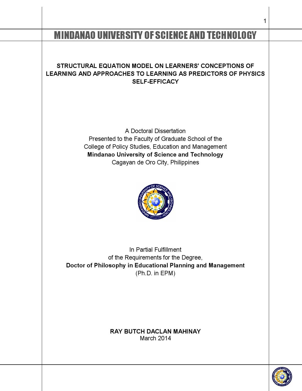 phd thesis on academic achievement The relationship between students' academic self-concept, motivation and academic achievement at the university unpublished ma thesis unpublished ma thesis university of free state.
