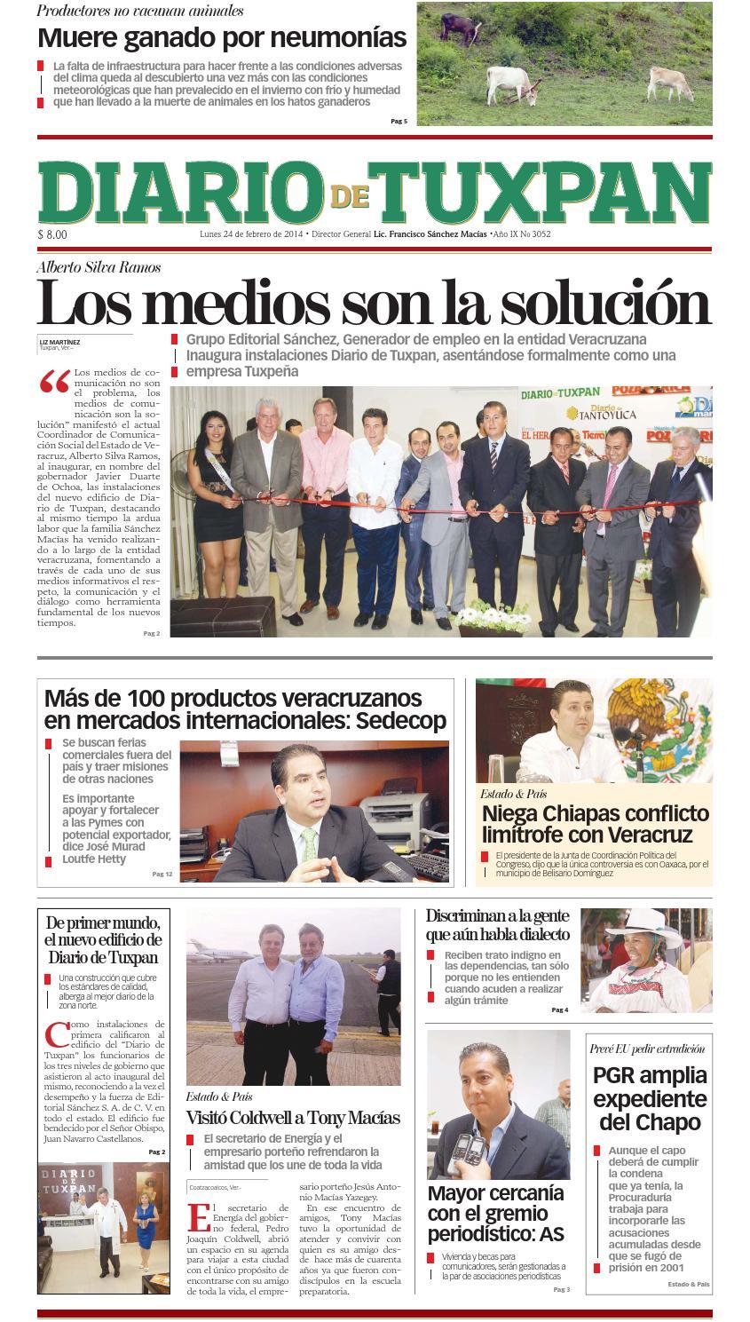 Diario de Tuxpan 24 de Febrero de 2014