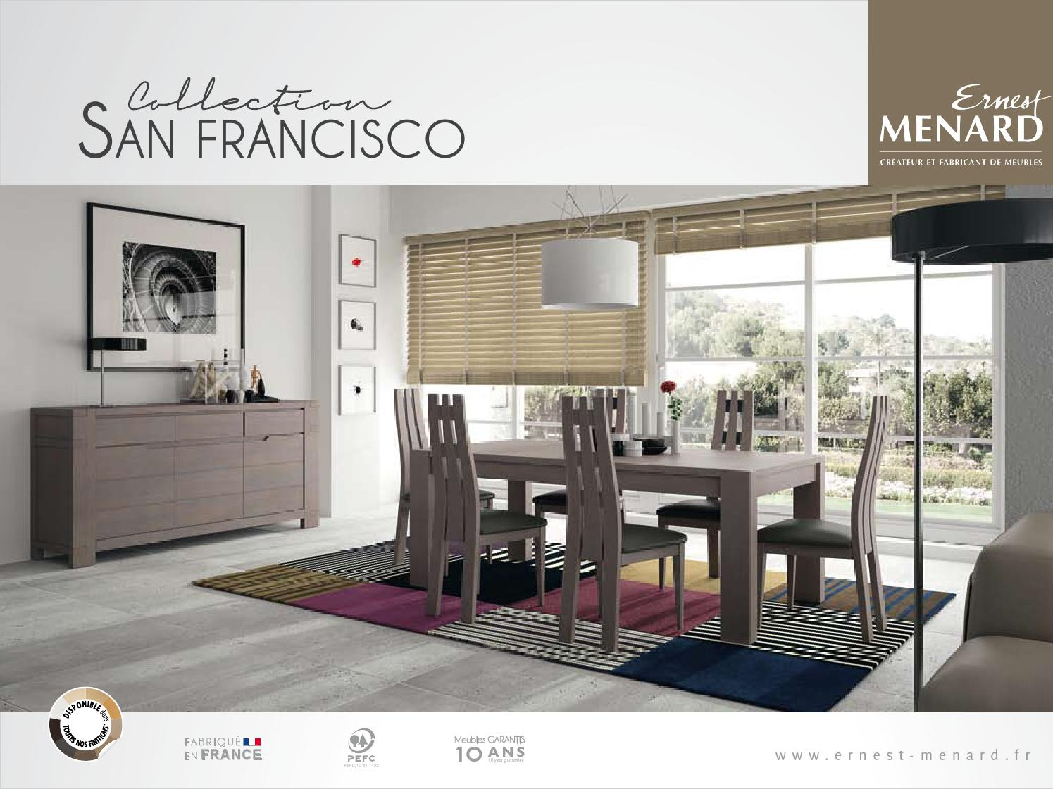 ernest menard san francisco by grazia mobili issuu. Black Bedroom Furniture Sets. Home Design Ideas