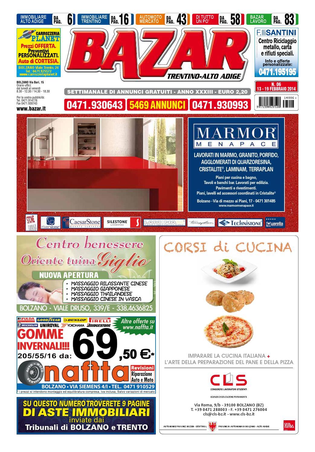 Bazar alto adige 06 del 13 19 febbraio 2014 by curcu for Piani di cabina di log gratuiti