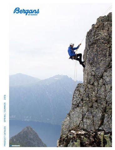 2a5e6a72 Bergans Product Catalog Spring / Summer 2014 by Bergans of Norway ...
