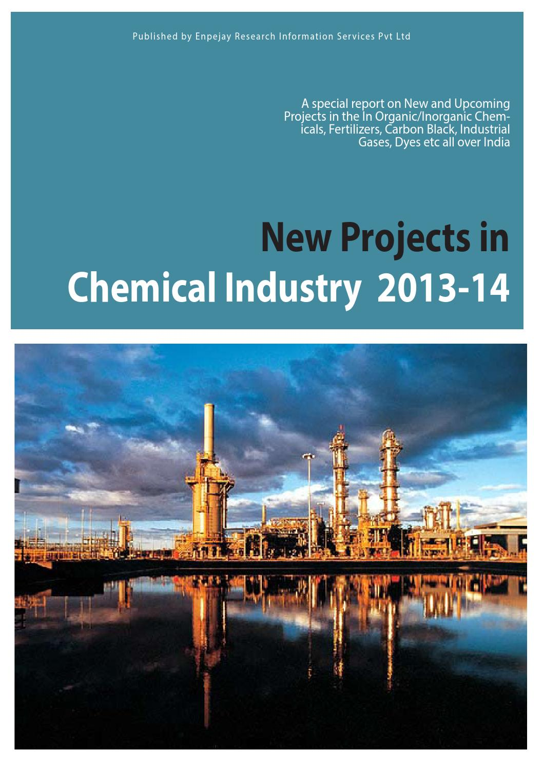 New Projects in Chemical Industry 2013 – 14 by Indscan - issuu