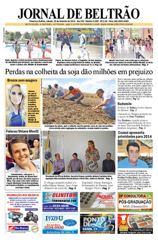 Jornaldebeltrao 5282 2014 02 22 by Orangotoe - issuu a1d4ab0e67
