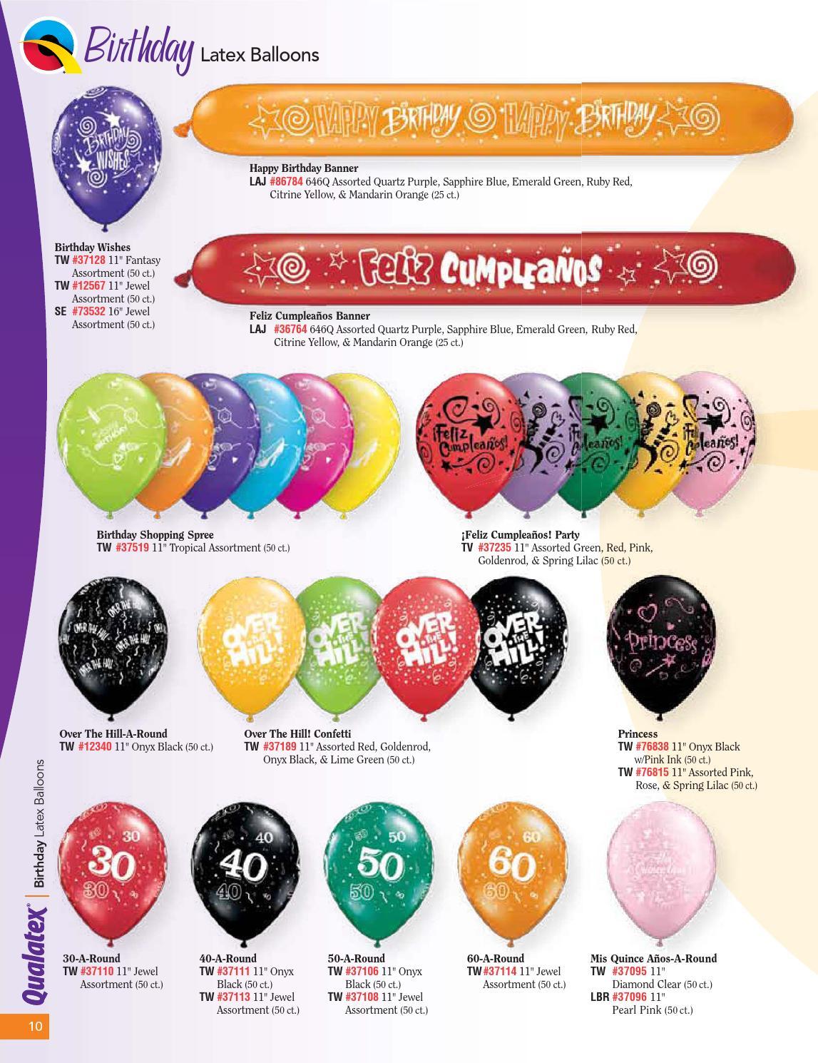 Pioneer Balloon Company 37110 30-A-ROUND JEWEL ASSORTMENT 11,