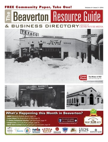 aeddee014bb0 BRG March 2014 by Beaverton Resource Guide - issuu