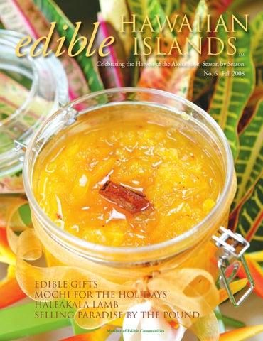 Edible Hawaiian Islands Fall 2008 By Edible Hawaiian Islands