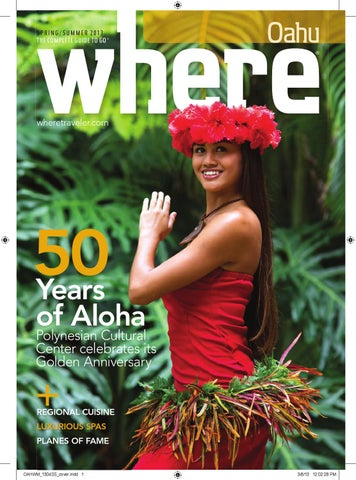 e95053e29f5a Where Oahu Spring-Summer 2013 by Sidney Louie - issuu