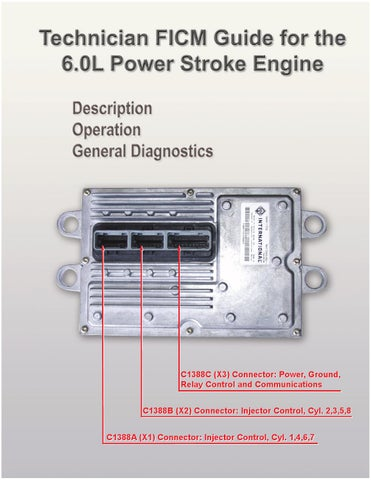 6 0l fuel injection control module tech guide by luis Motorcycle Wiring Diagram