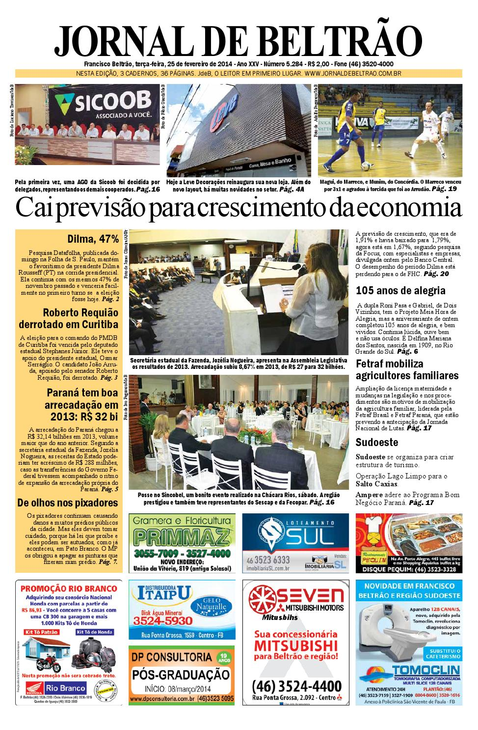 jornaldebeltrão 5284 2014-02-25.pdf by Orangotoe - issuu 69afa8900dc51