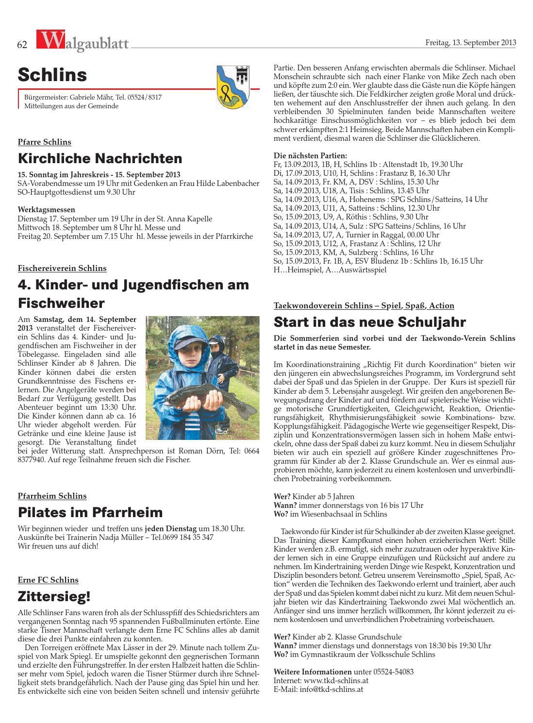 Vergangene Veranstaltungen Seite 34 JKA Walgau