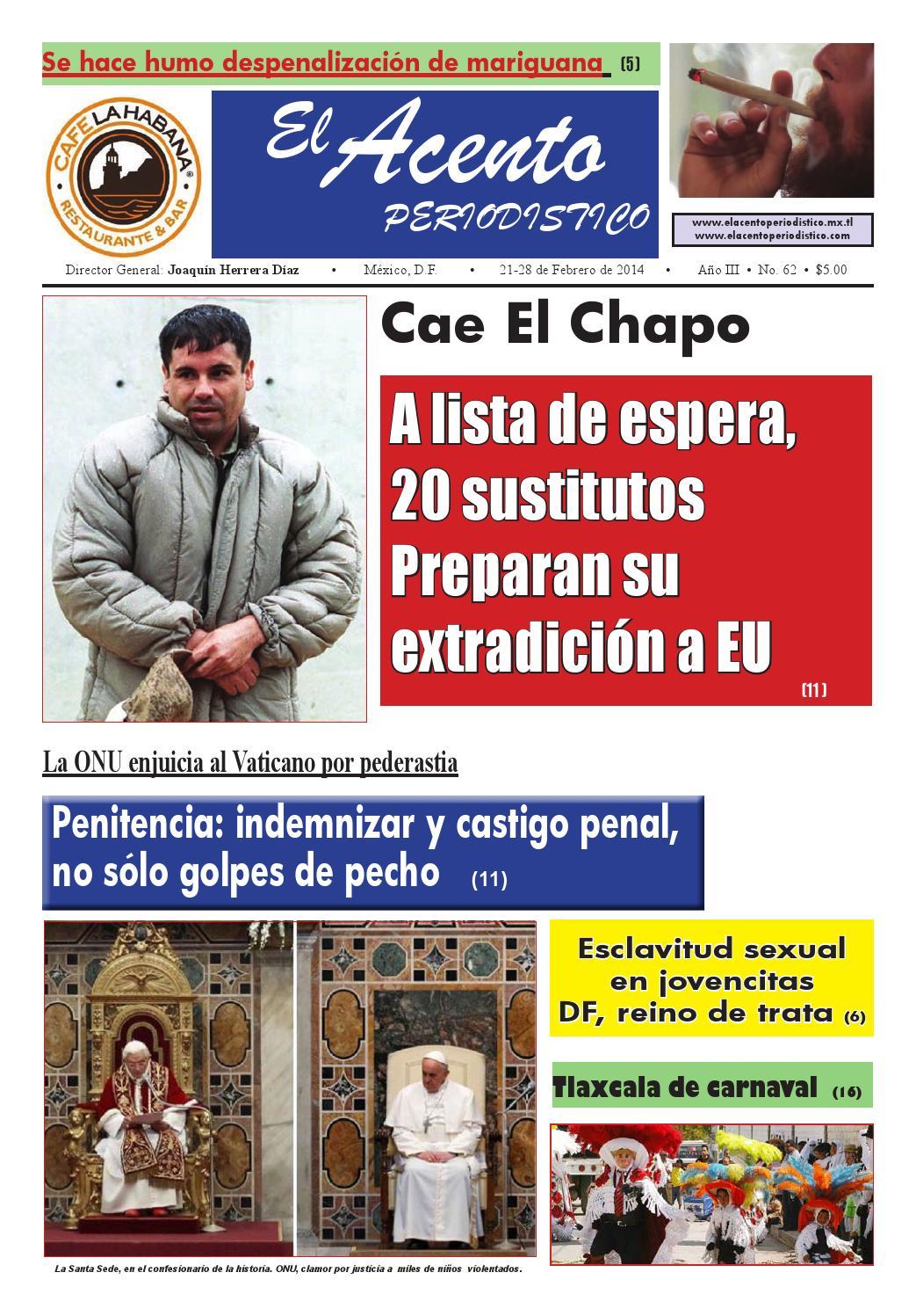 Acento edicion 62 by El Acento Periodistico - issuu