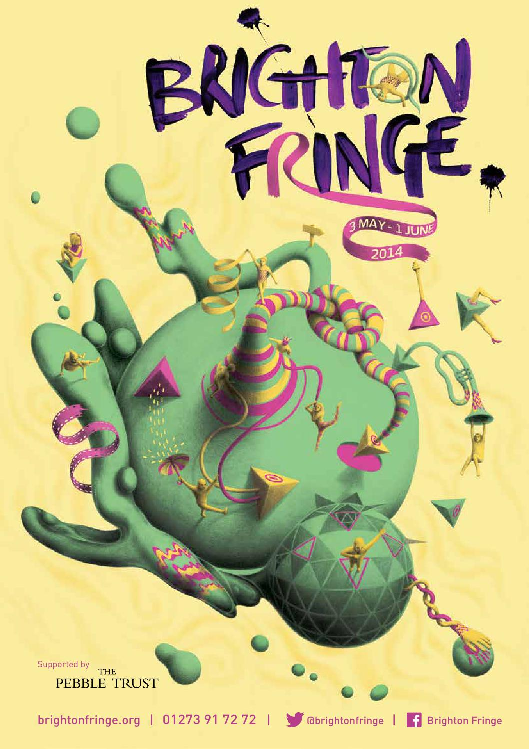 2014 Brighton Fringe Brochure by Brighton Fringe - issuu