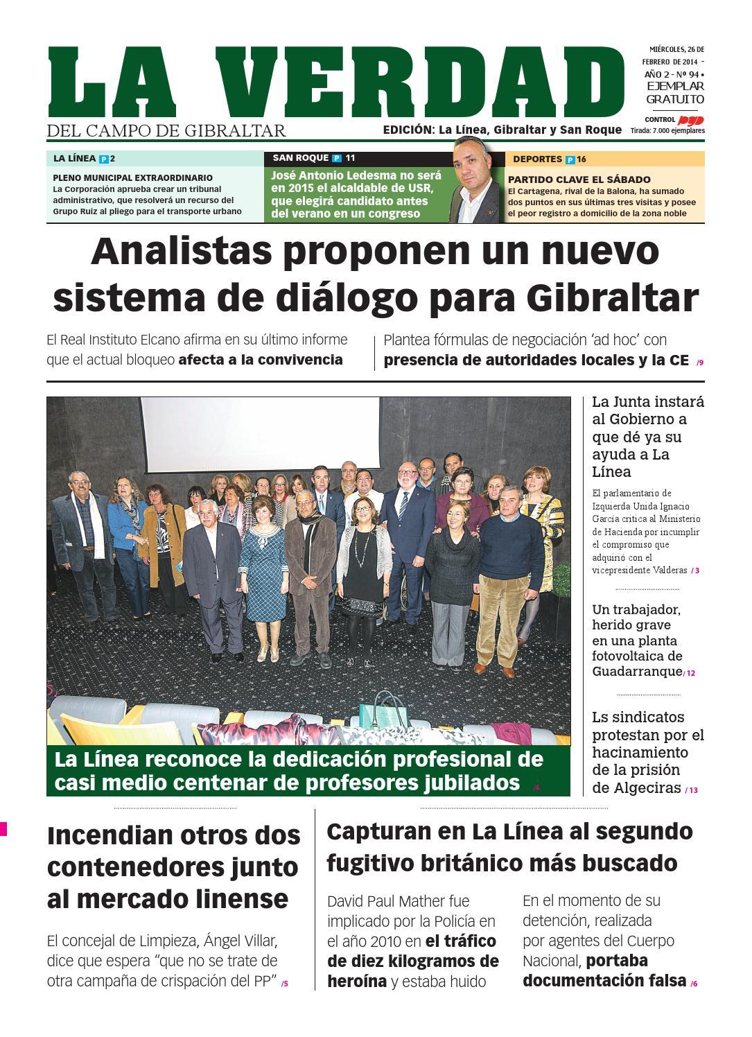 La verdad la linea 26 febrero by La Verdad del Campo de Gibraltar ...