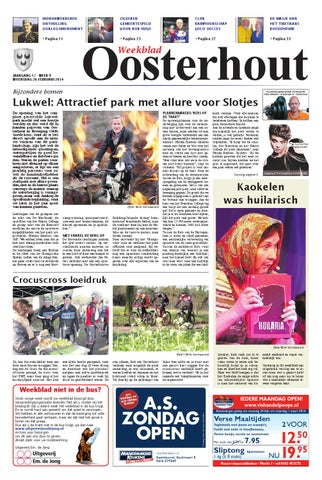 Weekblad Oosterhout 26 02 2014 By Uitgeverij Em De Jong Issuu