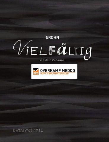 Grohn Gesammtkatalog   Overkamp Meddo By Overkamp Meddo   Issuu