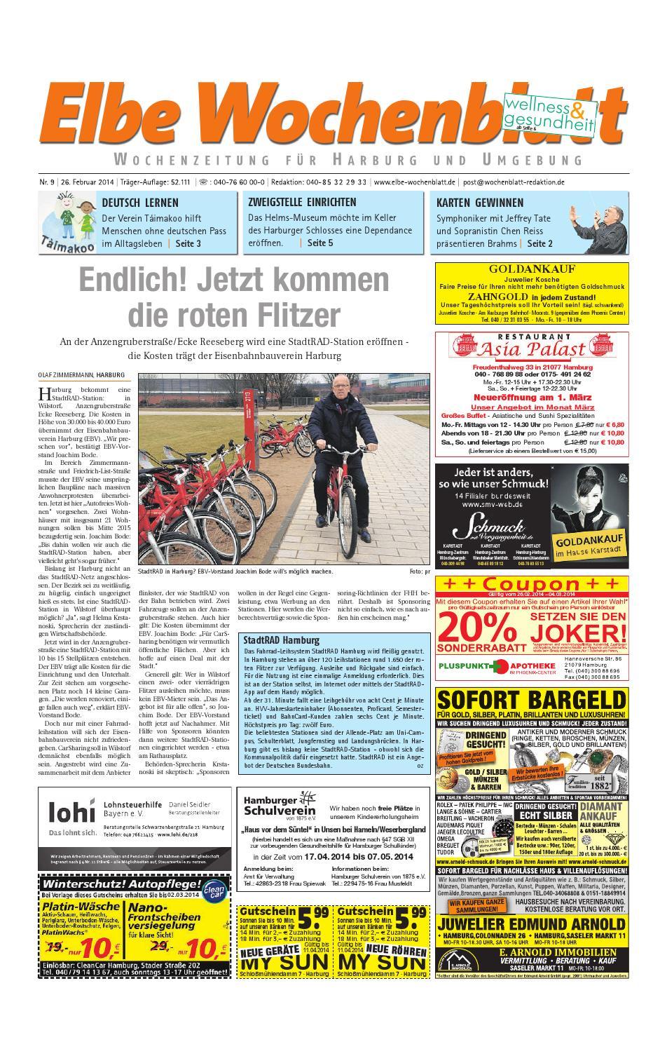 Harburg Kw09 2014 By Elbe Wochenblatt Verlagsgesellschaft Mbh Co