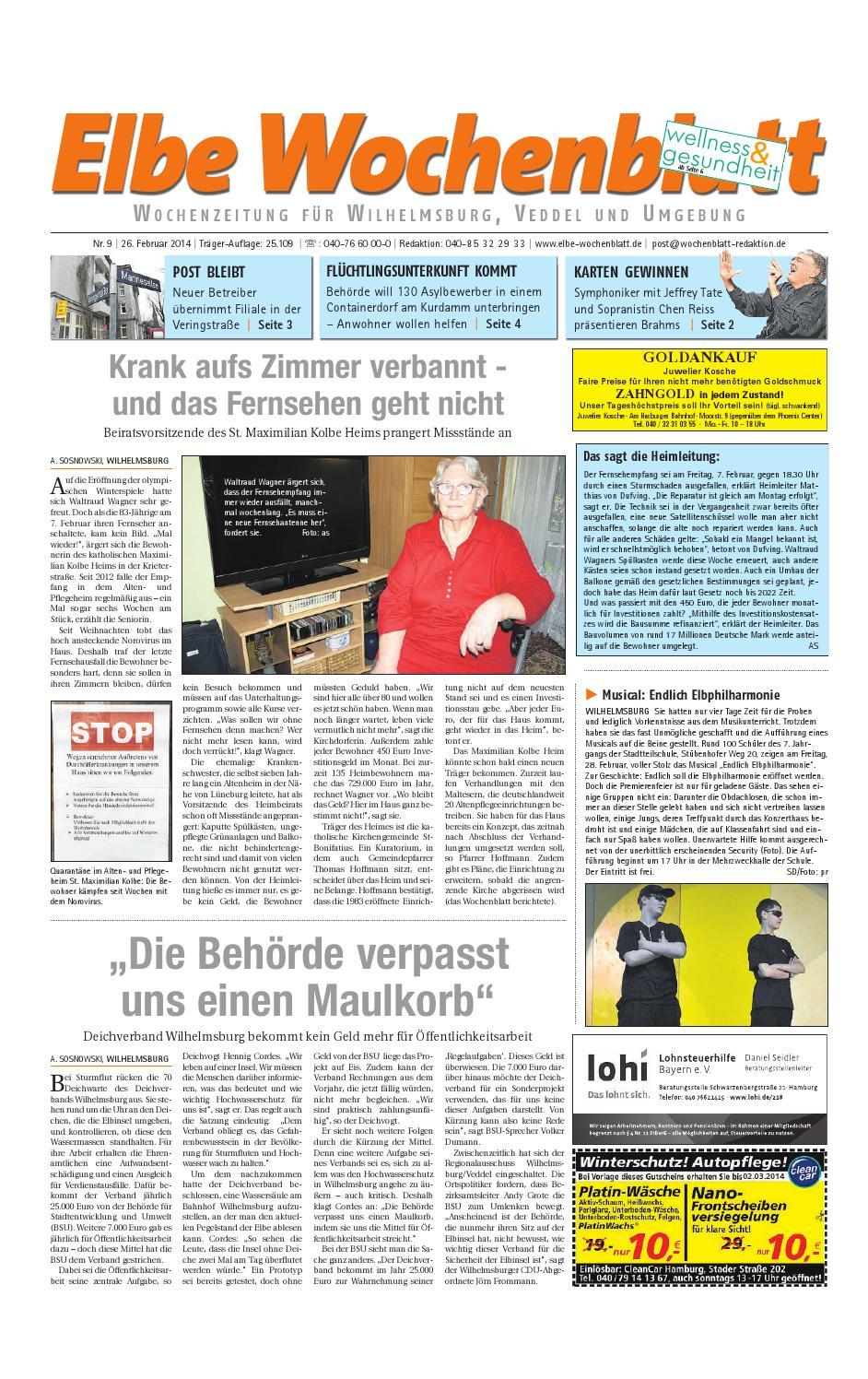 Wilhelmsburg KW09-2014 by Elbe Wochenblatt Verlagsgesellschaft mbH ...