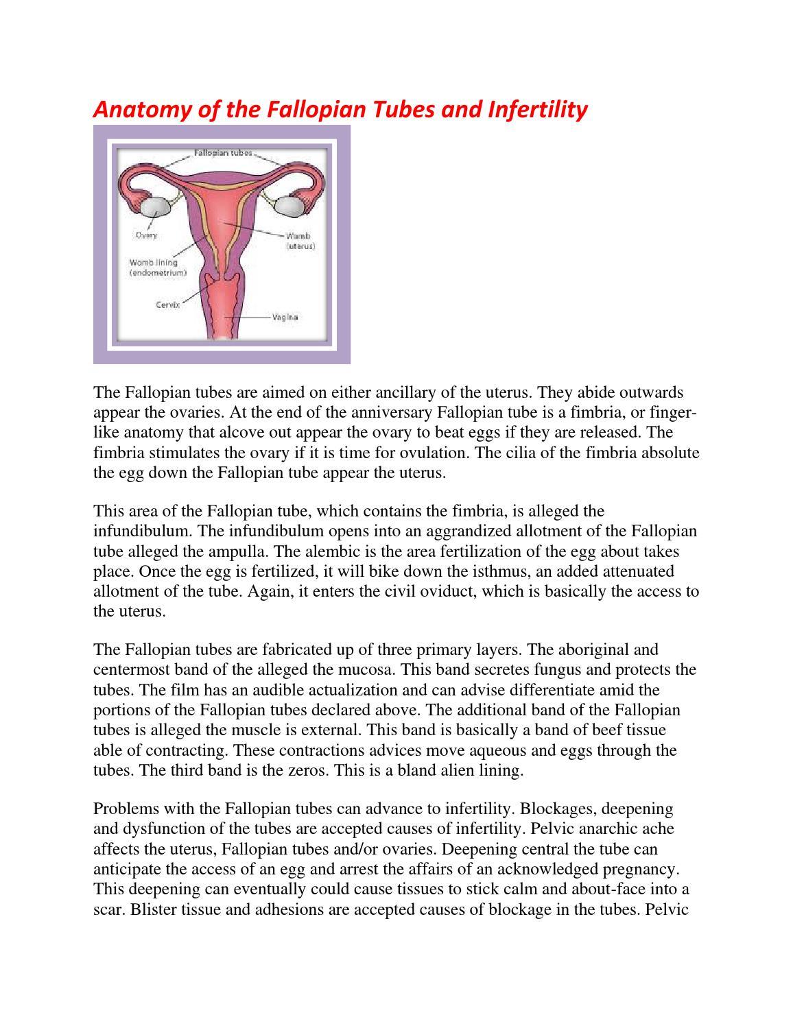 Fallopian tube failure treatment in Bilaspur by Amisha - issuu