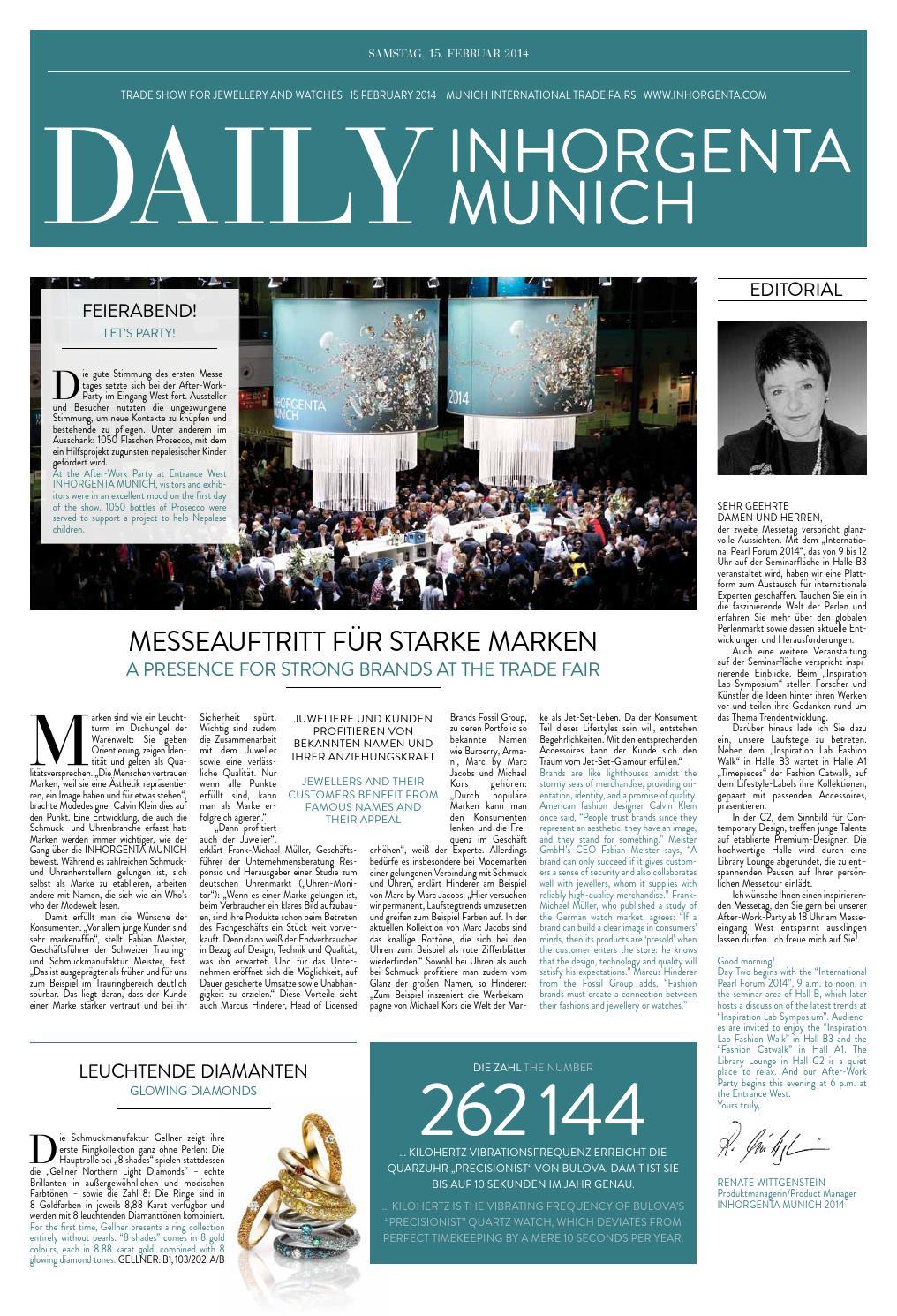 Messe 2014 Issuu samstag Muenchen Inhorgenta By uKc5lJTF13