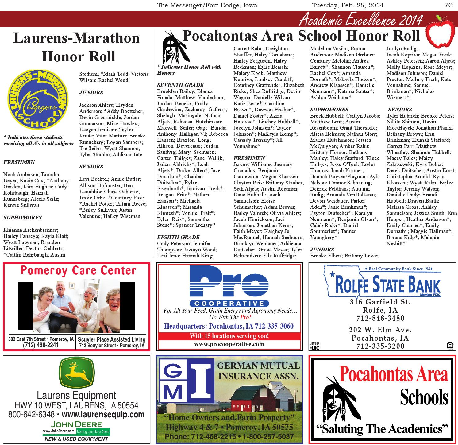 Academic Excellence 2014 By Newspaper