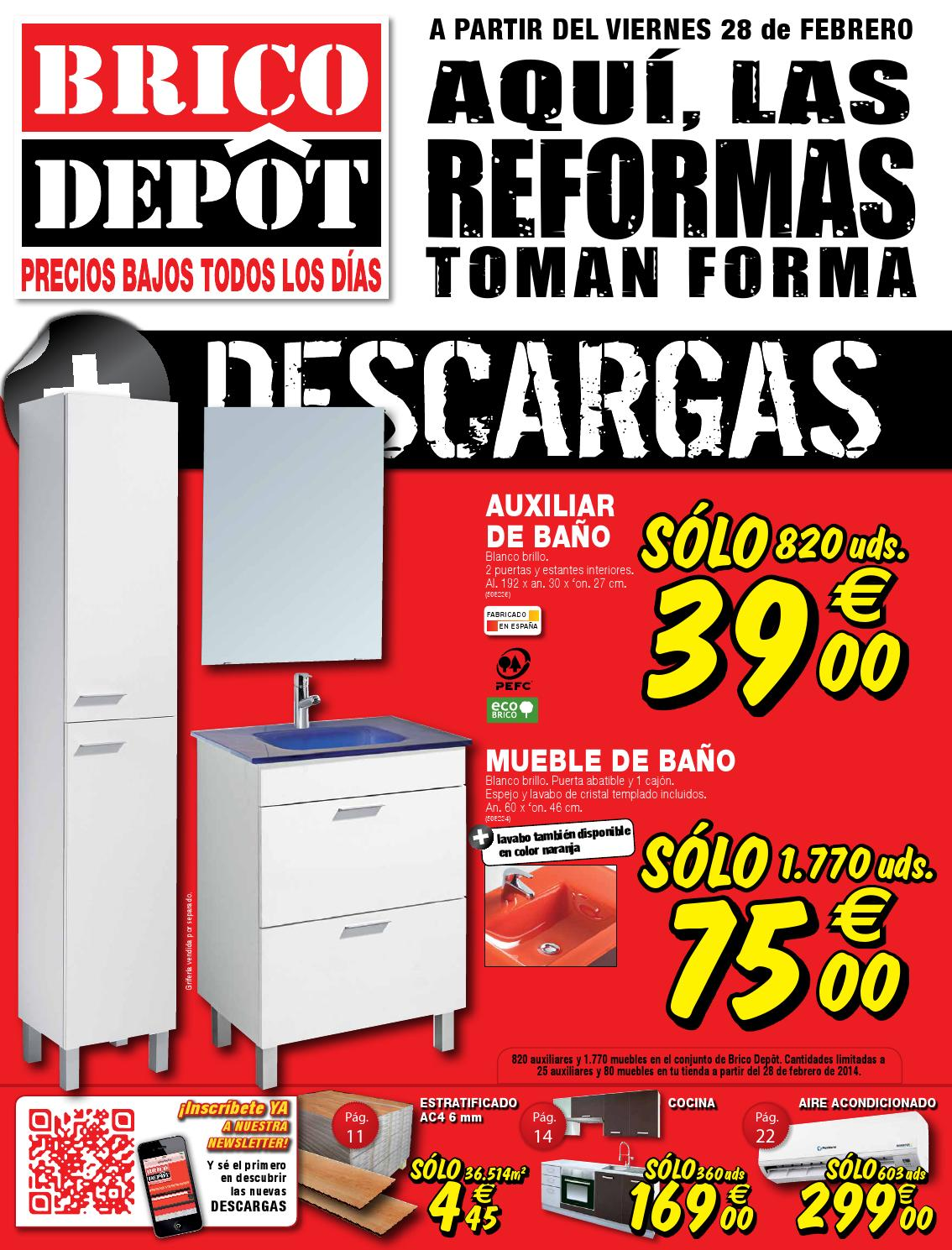 Bricodepot Catalogue 28febrero 24marzo2014 By Catalogopromociones