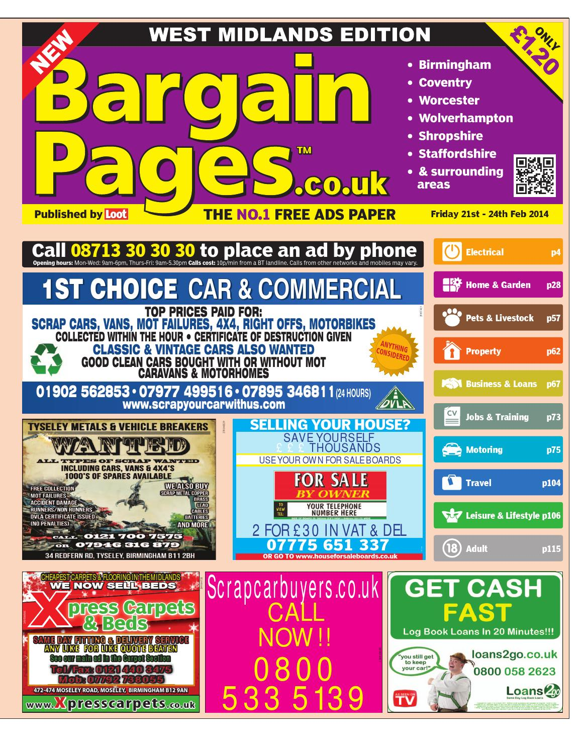 039944c45a9 Bargain Pages Midlands